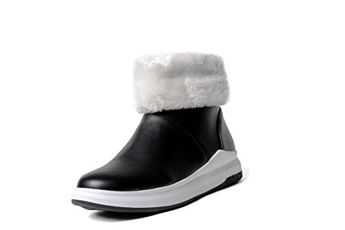 Balamasa Femmes Frangé Sans Chaussures De Marche Chaussures De Marche En Uréthane Abl10504 Noir