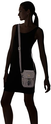 troop London - Bolso de asas para mujer Negro - negro