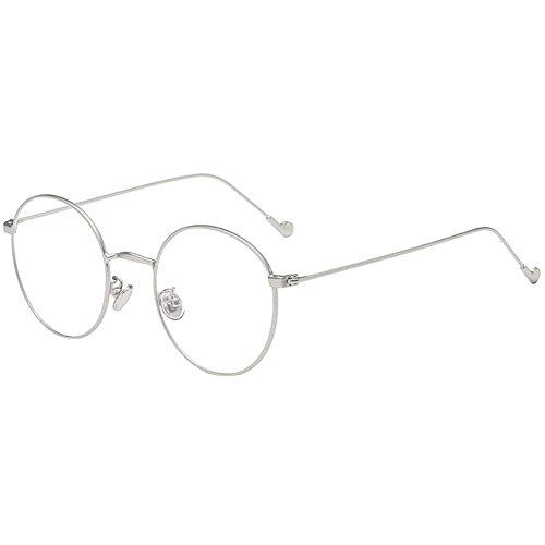 Lenti Da Hzjundasi Occhiali1 Siamo 0queste Telaio Bicchieri Lettura Pads Miopia Metallo Miope 5 Naso 0~ Non Morbido Personalità AjR4L53
