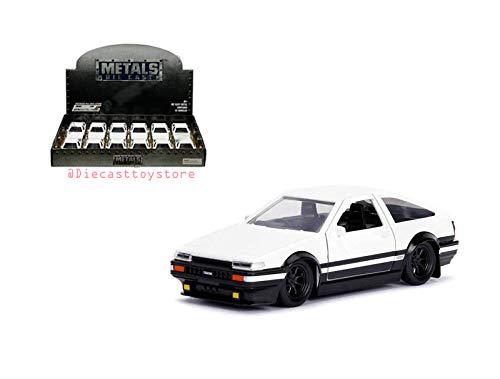Initial D 1986 Toyota Corolla Trueno AE86 1PC NO Retail Box 30882-DP1 by JADA Ja da DIECAST 1:32 Display Hollywood Rides