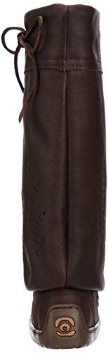 821519043629 - Manitobah Mukluks Women's Tall Gatherer Mukluk Winter Boot, Cocoa, 6 M US carousel main 1
