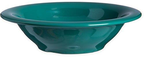 Carlisle 4303609 Durus Rimmed Melamine Bowl, 13 Oz., Green (Pack of 24)