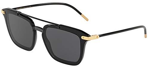 Dolce & Gabbana Men's 0DG4327 Black/Gold/Grey One Size (Dolce Und Gabbana Sport-tasche)