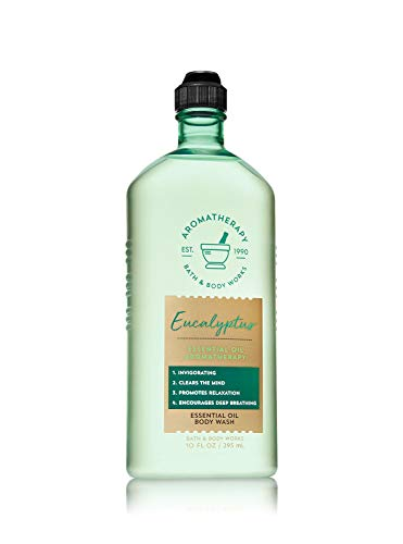 Bath and Body Works Eucalyptus Essential Oil Shower Gel 10 oz.
