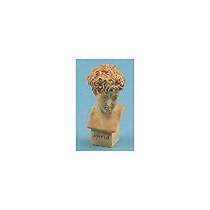 Miniature Dollhouse David Statue 1:12 Scale New