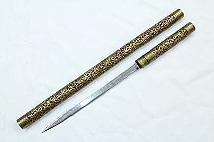 PH Artistic - Cuchillo de latón para dagger (hoja de acero ...