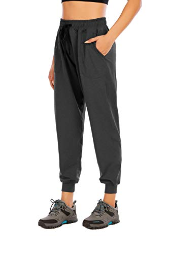 Metme Women's Active Yoga Sweatpants with Pockets Workout Joggers Casual Pants