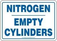 NITROGEN EMPTY CYLINDERS 7