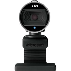 Microsoft LifeCam Webcam - 30 fps - USB 2.0 - 5 Megapixel Interpolated - 1280 x 720 Video - CMOS Sensor - Auto-focus - Widescreen - Microphone - H5D-00013 by Generic
