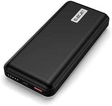 ELECJET PowerPie | USB Tipo C para Batería Externa 45W PD PPS | 20000mAh | QC