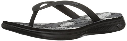 Skechers Sport Lagoon Grey Black Women's Sandals GOGA H2 HRrHwpq