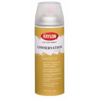 3 Pack Conservation Varnish Spray Matte (Product Catalog: Adhesives, Fasteners & Finishing Sprays) ()