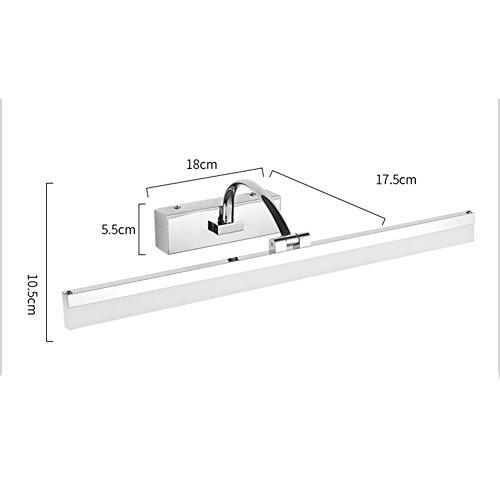 Mirror light XUERUI LED Lamp, 9W-16W Warm White Bathroom Lights, EMC Driver, 40-70CM X 7CM X 4.5cm, Energy Savin (Color : Warm white, Size : 40CM) by Mirror light (Image #5)