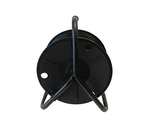 Price comparison product image Audio2000'S ADC2716B Cable Reel,  Capacity: 330' of 6mm cable,  Black
