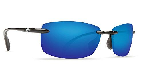 Costa Del Mar Ballast 0 Ballast, Shiny Black Blue Mirror Columbus-Mate, Blue - Mar Del Ballast Costa