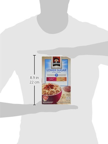 Quaker Instant Oatmeal, Low Sugar Fruit & Cream Variety Pack, Breakfast Cereal, 10 Packets Per Box (Pack of 4) by Quaker (Image #8)