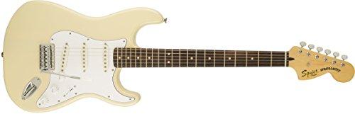 Electric Vintage Guitar Knobs - Squier by Fender Vintage Modified Stratocaster Electric Guitar - Vintage Blonde - Rosewood Fingerboard
