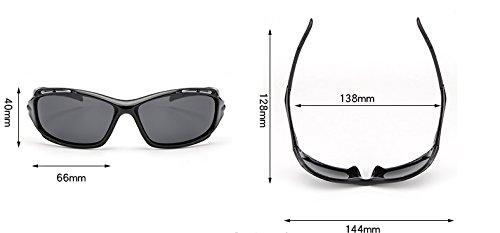 Black Hombre magnesio para Gafas conducen la Gafas Ruanyi de Sol Gafas la de Tonos del Accesorios Que Sol polarizada brown Lente de Aluminio del Hombres Vendimia tSIxPq