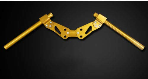 FidgetFidget Motorcycle Handle Bar Lower Sport Kit Set Honda MSX125{Colour: Yellow}