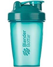 BlenderBottle Classic Shaker met blenderBall, optimaal geschikt als eiwitshaker, proteïneshaker, waterfles, drinkfles, BPA-vrij, schaalt tot 400 ml, inhoud 590 ml, teal turquoise