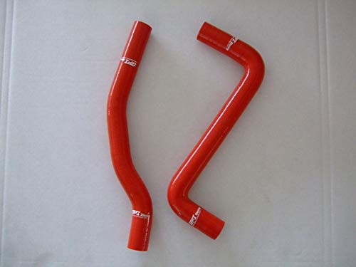 For Toyota Celica GT-4 GT4 ST205 ST 205 3S-GTE silicone radiator hose kit (red) ()