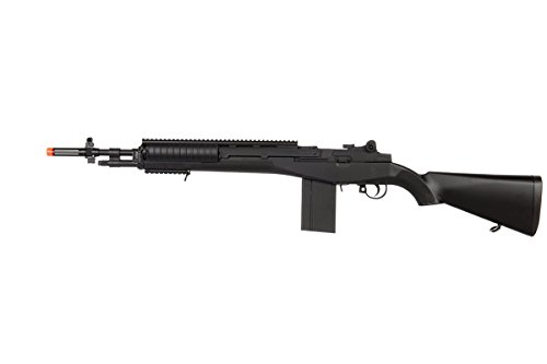 UK Arms M160A1 M14 Spring Rifle Airsoft Gun (Black) for sale  Delivered anywhere in USA