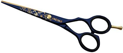 """Golden Blossom 5.5"""" Ciseaux de coiffeur plaqué Or"""