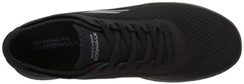 Femme Noir Go Baskets Lite Skechers Black Walk Impulse wPYXYUq