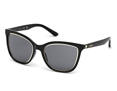 Guess Noir Smoke Black GU7467 Sonnenbrille Shiny BBnErUgwxZ