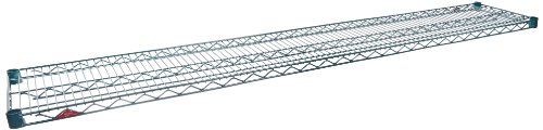 "Metro 1472NK3 Super Erecta Metroseal 3, Steel Wire Shelf with Microban, 600 lb. Capacity, 1"" Height x 72"" Width x 14"" Depth (Pack of 2)"