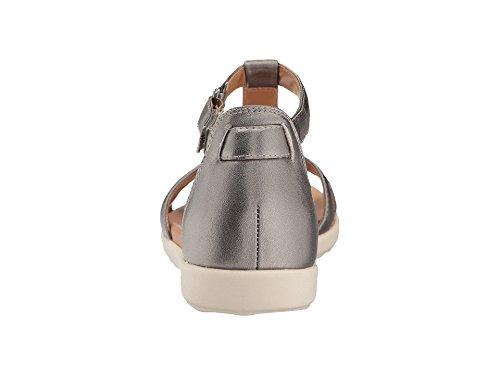 Mara Un Pewter Clarks Metallic Para Reisel Mujer Leather xSffFqw