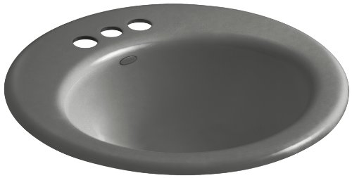 Kohler K-2917-4-58 Radiant Self-Rimming Bathroom Sink wit...