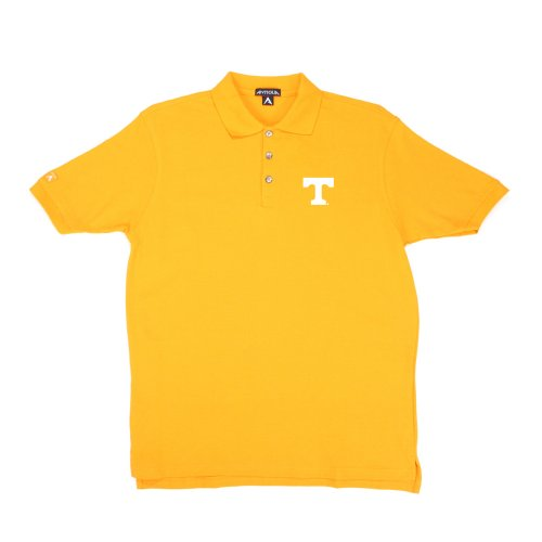 Antigua Tennessee Classic Pique Polo Shirt (XX-Large, Tennessee Orange)