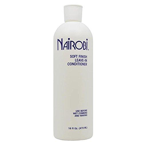 Nairobi Soft Finish Leave-in Conditioner, 16 Ounce (Nairobi Hair Shampoo)