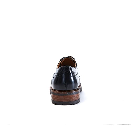 British Passport Loafer, Mocassins Pour Femme Testa Di Moro e Bianco