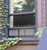 MicroAirScreen Adjustable Window Air Screen, 8 x 20'' - 36''