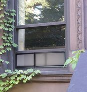MicroAirScreen Adjustable Window Air Screen, 8 x 17'' - 30''