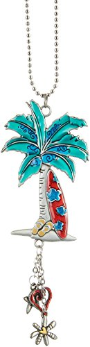 Pear Tree Mini (Ganz Colorful Palm Tree and Surf Board Car Charm)
