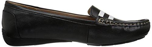 LifeStride Women's Vila Driving Style Loafer, Parent Black