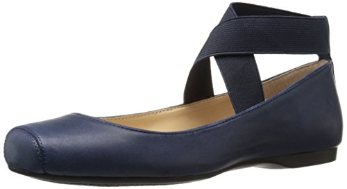 Ballet Mandalaye femminile Jessica Simpson Flat, Navy Baby, 8.5 Medium US
