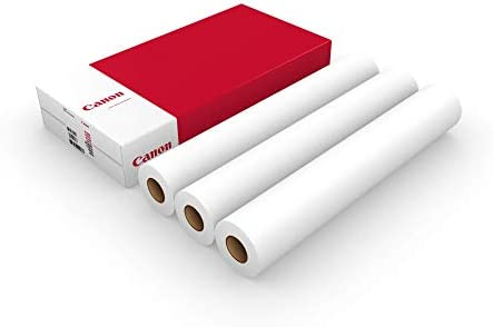 Canon IJM009 610mm 50m - Papel para plotter: Amazon.es: Oficina y papelería