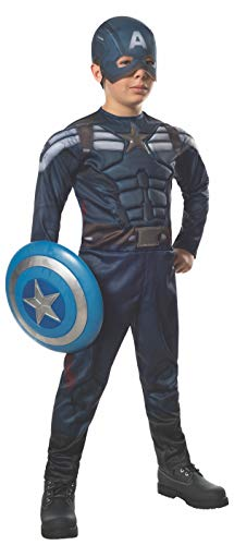Rubies Captain America: The Winter Soldier Deluxe Stealth Suit Costume, Child Medium]()