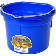 DPD LITTLE GIANT PLASTIC FLAT BACK BUCKET - 8 QUART
