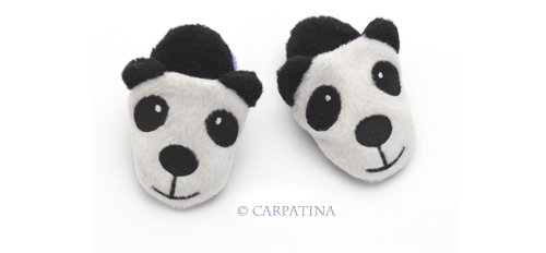 Panda Slippers - Fits 18
