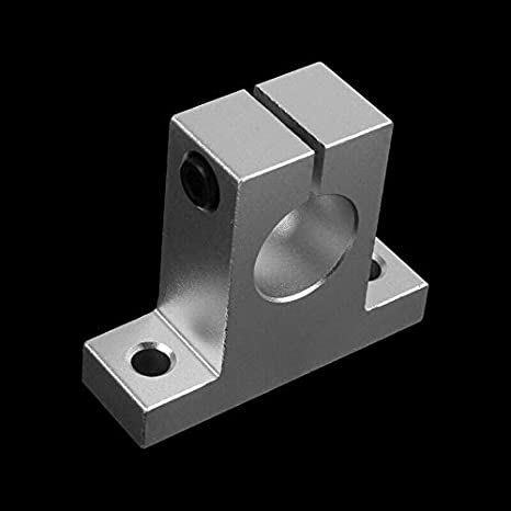10X Milling Machine SK20 20mm Bore Linear Rail Shaft Support Rod Bracket D7V8