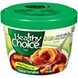 Healthy Choice Microwavable Cheese Tortellini Soup 14 oz (Pack of 12)