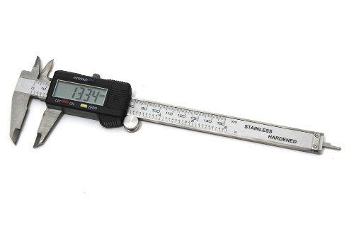Pro multimètre numérique lCD pied à coulisse digital 150 mm (6 ') milimeter pied à coulisse pour mesure Oramics