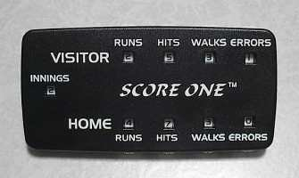 Score One Baseball Softball Scorekeeper