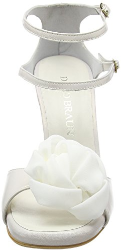DAVID BRAUN Sandalette - Sandalias de Vestir Mujer Beige - Beige - Crème