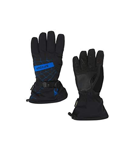 Spyder Men's Overweb Gore-tex Ski Glove, Black/Turkish Sea, Medium